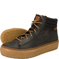 High Rise Leather Wool 804
