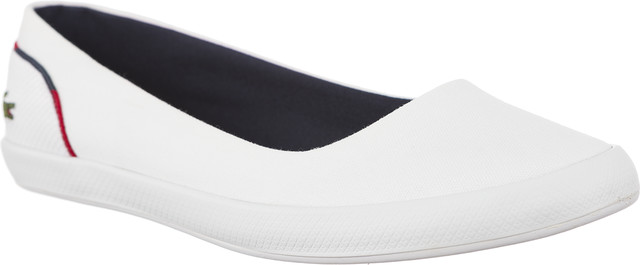 Lacoste LANCELLE BALLERINA 118 1 CAW 407 WHITE/NAVY 735CAW0035407