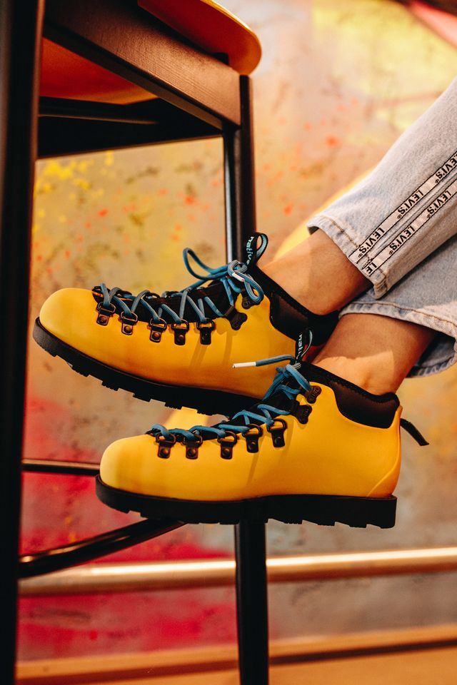 ALPINE YELLOW/JIFFY BLACK FITZSIMMONS CITYLITE 7546