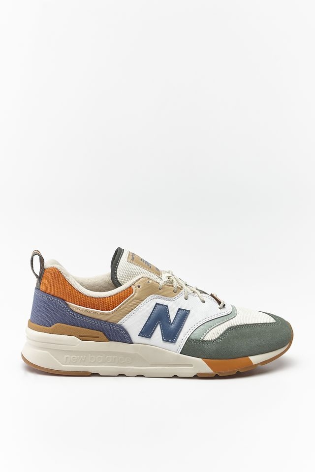 New Balance CM997HAN SPRING HIKE SLATE GREEN WITH STONE BLUE/LINEN FOG
