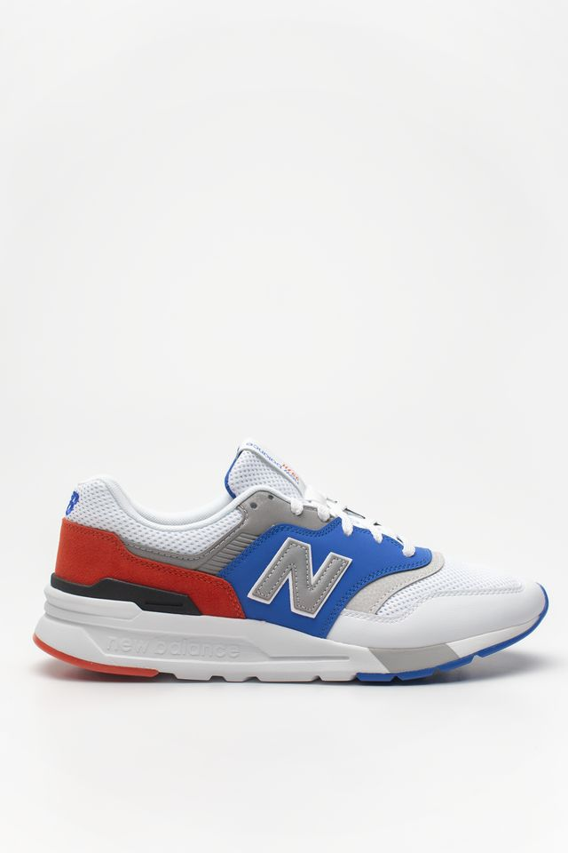 New Balance CM997HZJ WHITE WITH BLUE