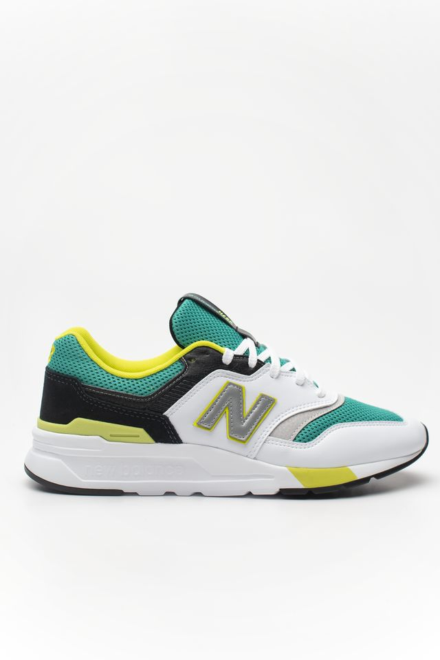 New Balance CM997HZL WHITE WITH GREEN