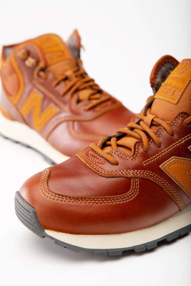 Buty New Balance  <br/><small>MH574OAD BROWN </small>