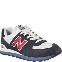 Buty New Balance ML574ESC NAVY WITH RED