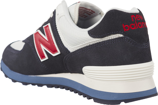promo code 37abd 49d44 Buty New Balance ML574ESC NAVY WITH RED - eastend.pl