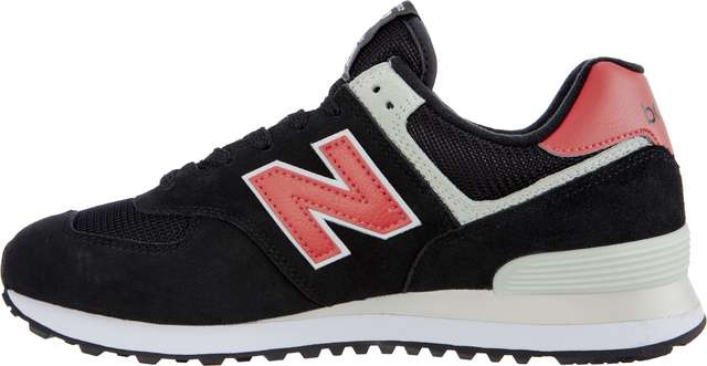 Buty New Balance  <br/><small>ML574SMP BLACK WITH POMELO </small>
