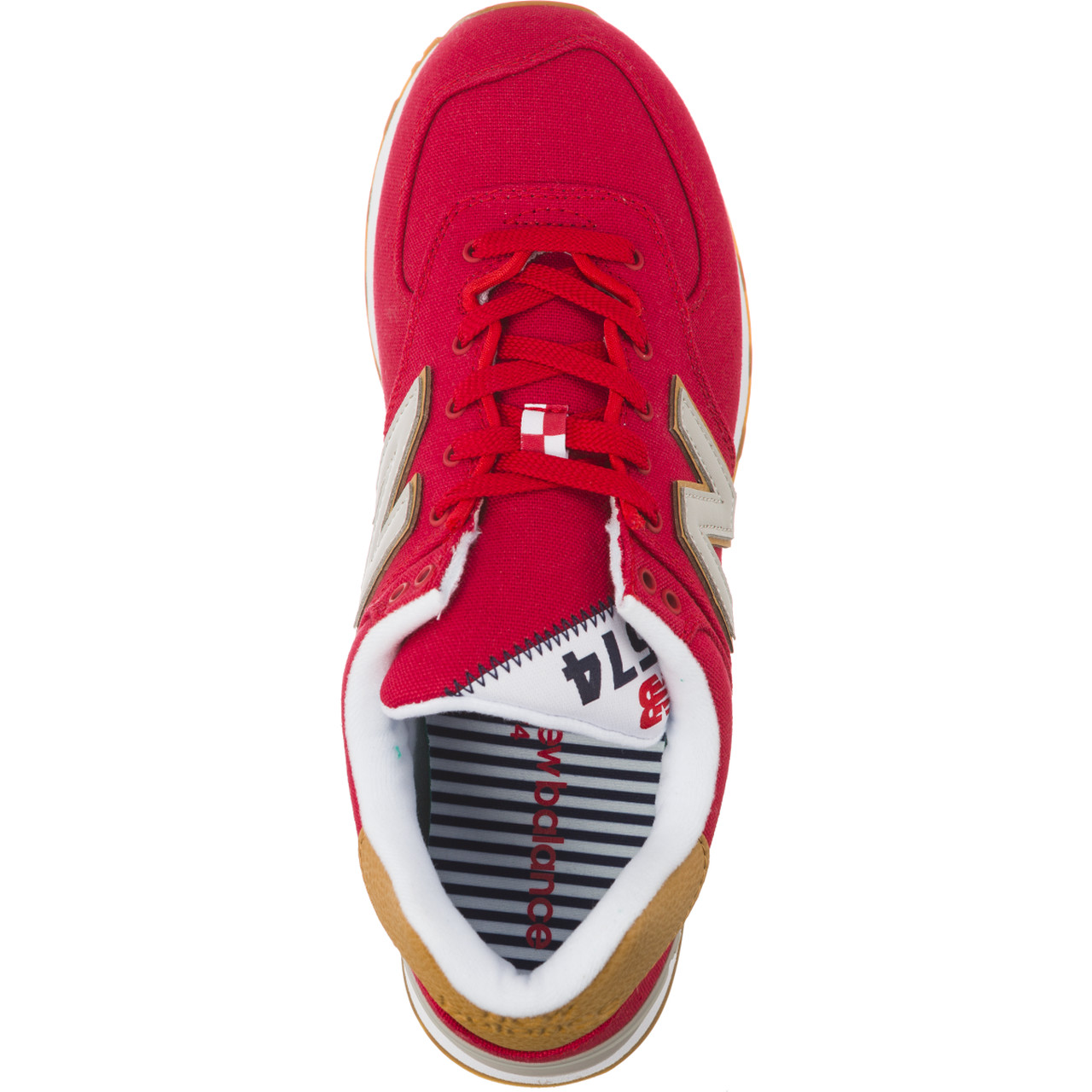 Buty New Balance  <br/><small>ML574YLA TEAM RED WITH OVERCAST </small>