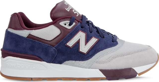 Buty New Balance  <br/><small>ML597GNB RAIN CLOUD/PIGMENT/BURGUNDY </small>