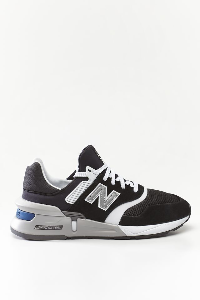 New Balance MS997HGA BLACK WITH WHITE