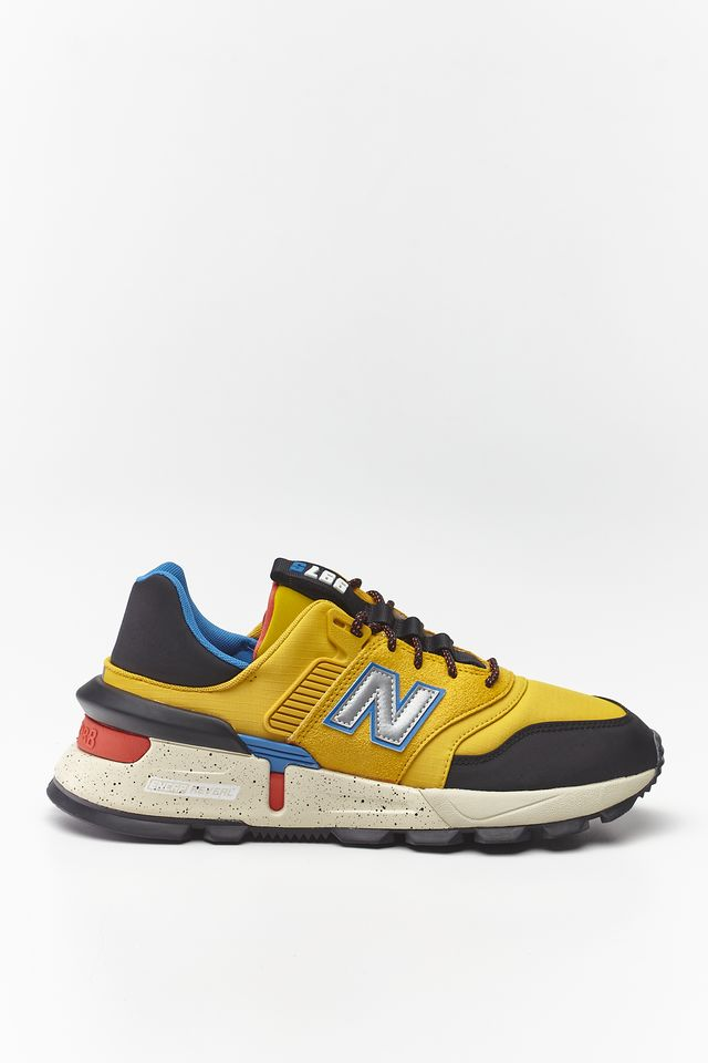 VARSITY GOLD WITH BLACK/NEO CLASSIC BLUE MS997SKB