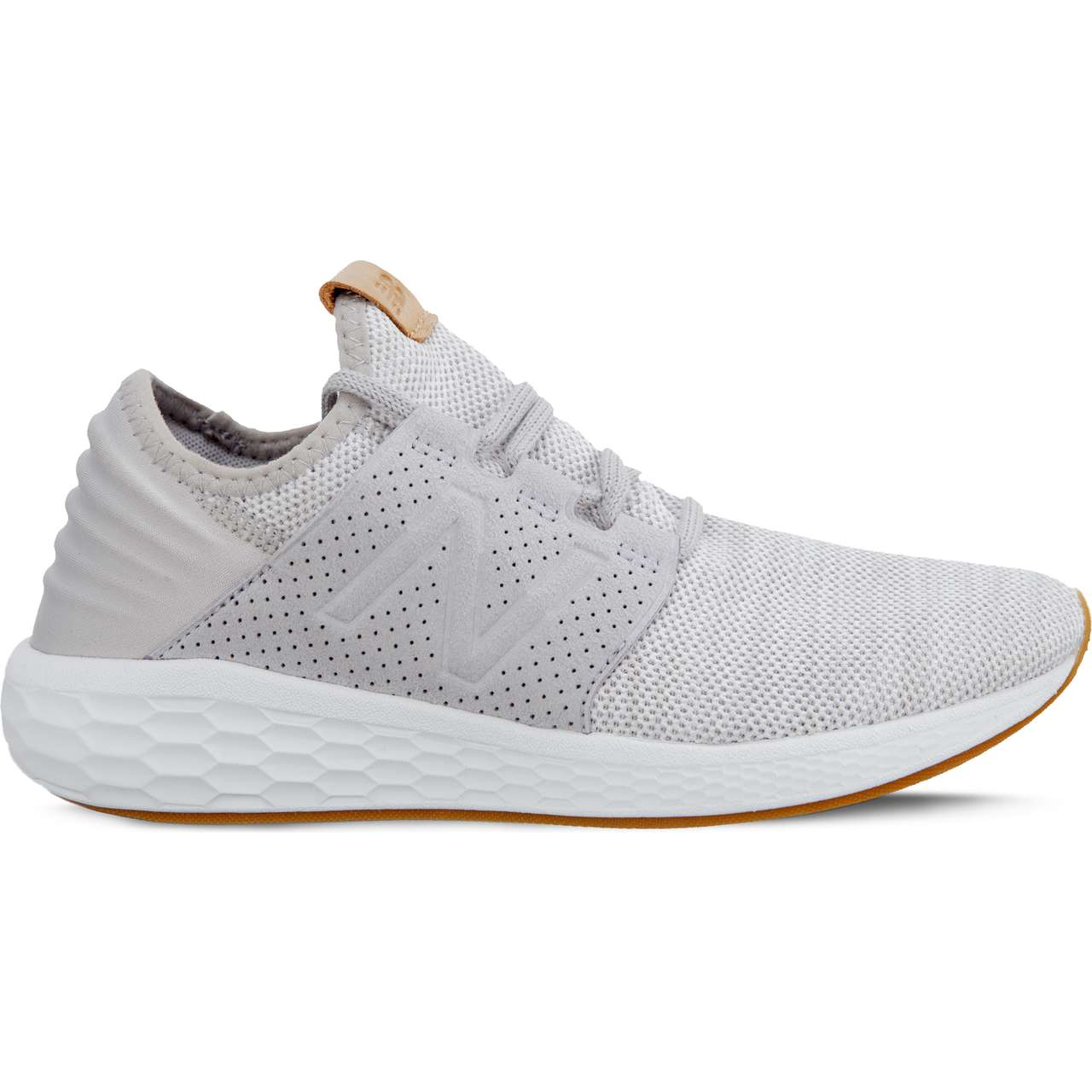 Buty New Balance  <br/><small>FRESH FOAM CRUZ V2 KNIT WCRUZKG2 RAIN CLOUD WITH WHITE MUNSELL </small>