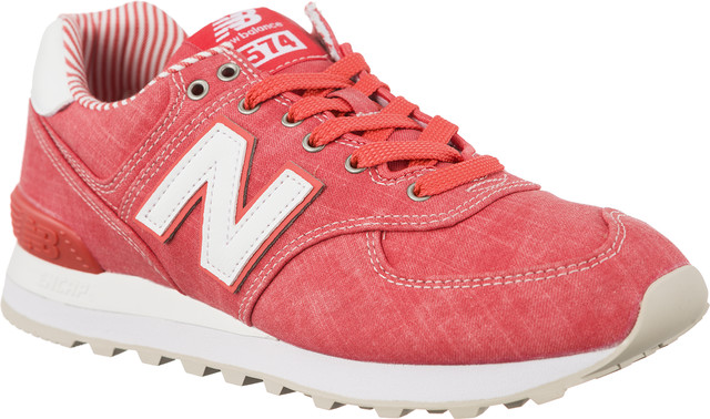 New Balance WL574CHE SPICED CORAL WITH WHITE