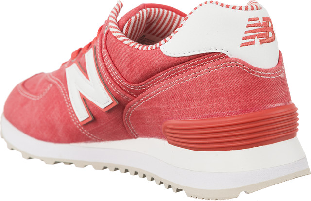 Buty New Balance  <br/><small>WL574CHE SPICED CORAL WITH WHITE </small>