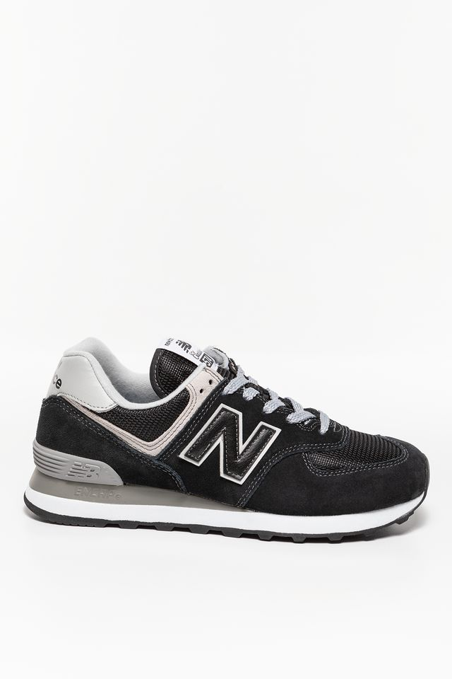 New Balance WL574EB BLACK WITH WHITE