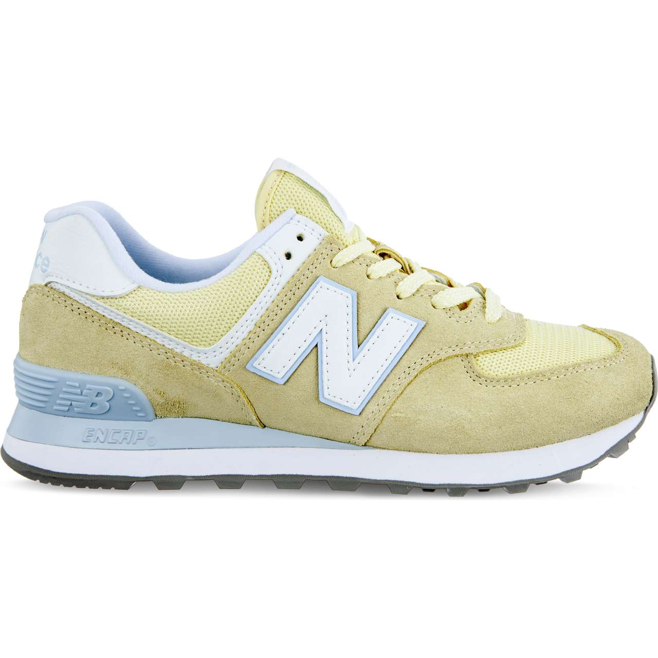 Buty New Balance  <br/><small>WL574ESG YELLOW </small>
