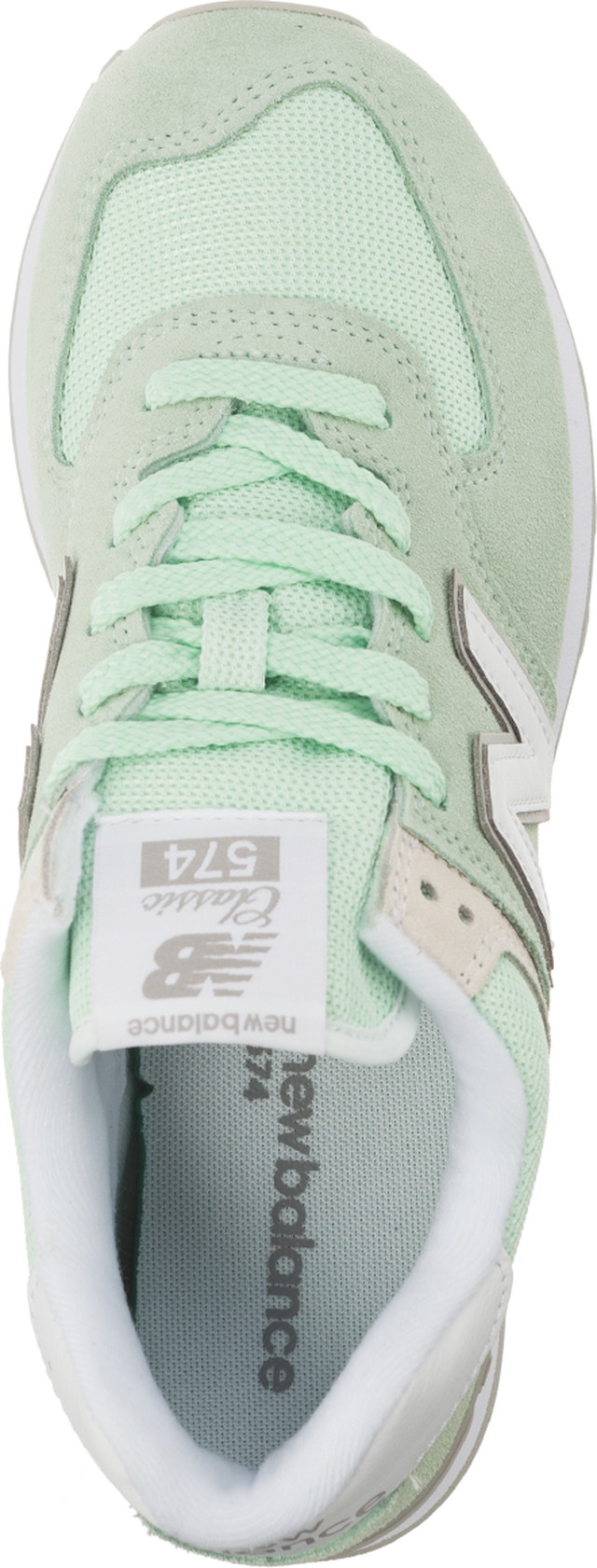 Buty New Balance  <br/><small>WL574ESM PASTEL PACK Green </small>