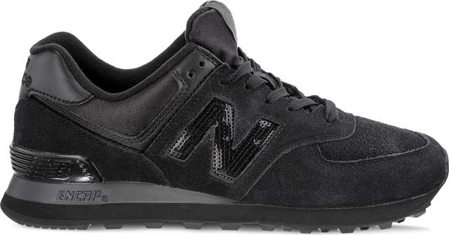 New Balance WL574FHA HOLIDAY SPARKLER BLACK