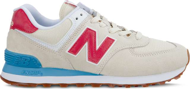 New Balance WL574FLA SUMMER DUSK ALABASTER WITH POMELO