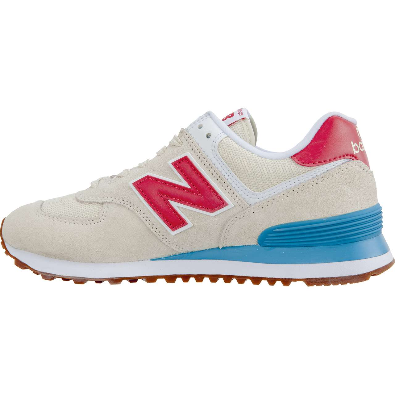 Buty New Balance  <br/><small>WL574FLA SUMMER DUSK ALABASTER WITH POMELO </small>