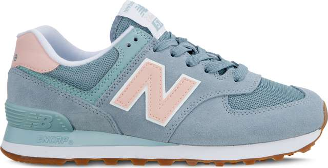 New Balance WL574FLB SUMMER DUSK SMOKE BLUE WITH HIMALAYAN PINK