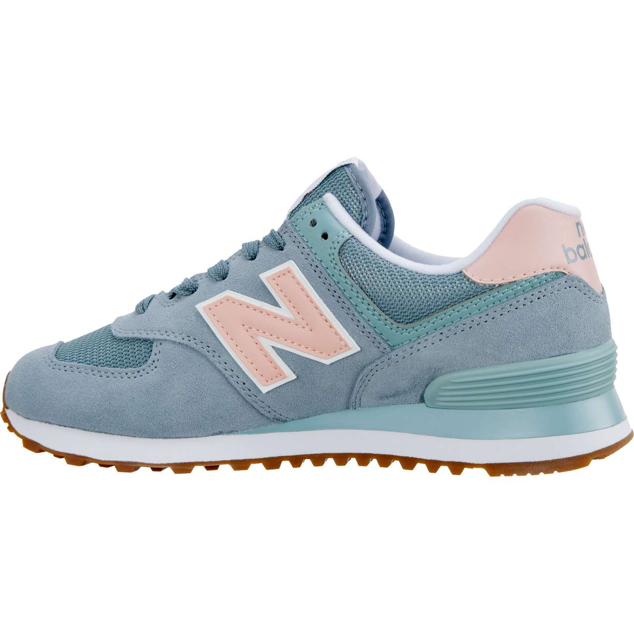 Buty New Balance  <br/><small>WL574FLB SUMMER DUSK SMOKE BLUE WITH HIMALAYAN PINK </small>