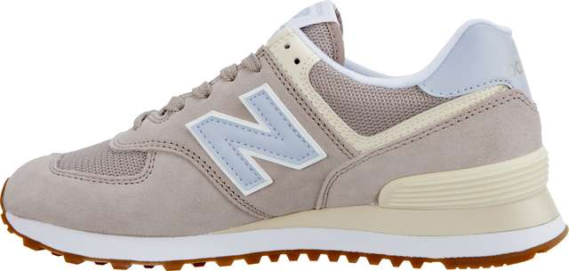 Buty New Balance  <br/><small>WL574FLC SUMMER DUSK FLAT WHITE WITH ICE BLUE </small>