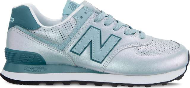 New Balance WL574KSA SHEEN PACK MINERAL SAGE WITH OUTER BANKS