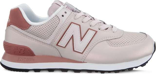 New Balance WL574KSE SHEEN PACK CONCH SHELL WITH DARK OXIDE