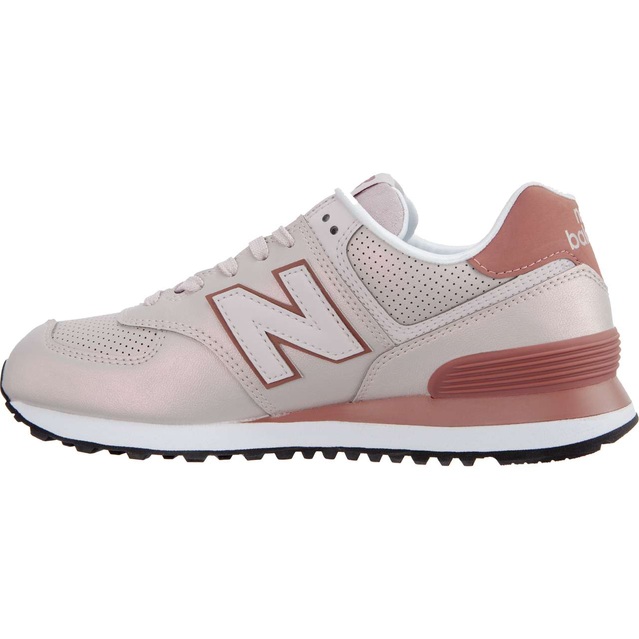 Buty New Balance  <br/><small>WL574KSE SHEEN PACK CONCH SHELL WITH DARK OXIDE </small>