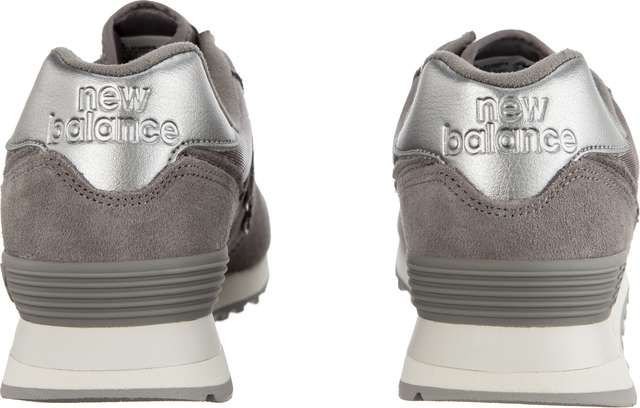 Buty New Balance  <br/><small>WL574MMS SATEEN TAB MARBLEHEAD WITH METALLIC SILVER </small>