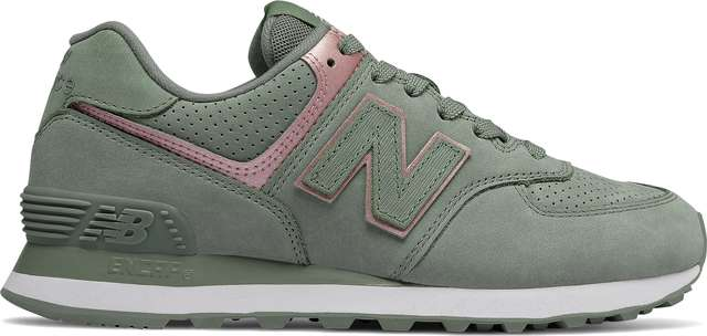 New Balance WL574NBL SEED WITH CHAMPAGNE METALLIC