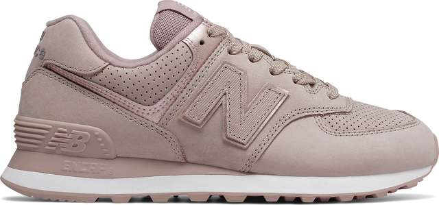 New Balance WL574NBM AU LAIT WITH CHAMPAGNE METALLIC