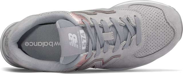 Buty New Balance  <br/><small>WL574NBN ARCTIC SKY WITH CHAMPAGNE METALLIC </small>
