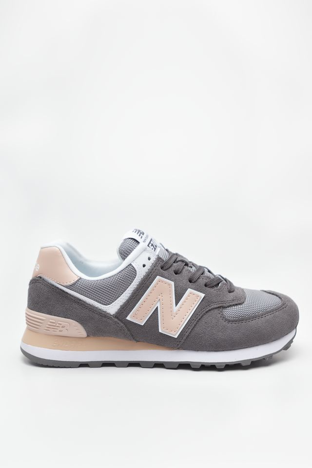New Balance WL574NDB GREY WITH PINK