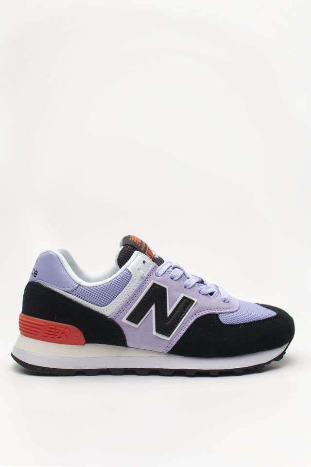 New Balance WL574NWA CLEAR AMETHYST WITH BLACK