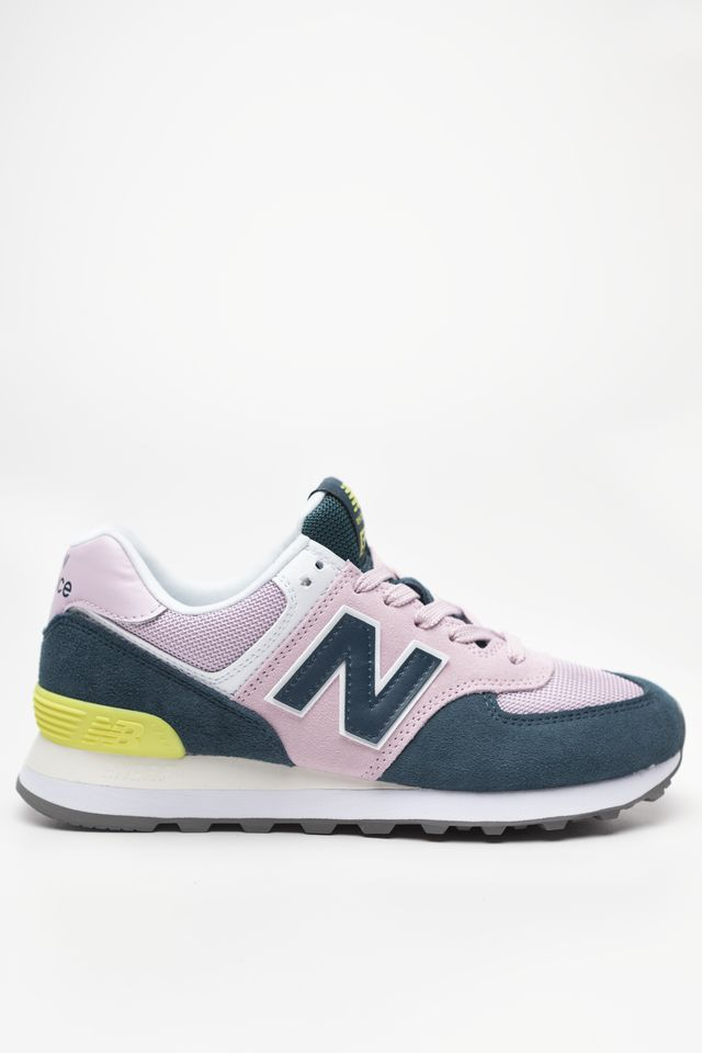 New Balance WL574NWB PINK WITH GREEN