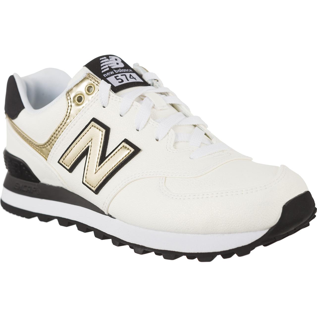 buty new balance biało czarne
