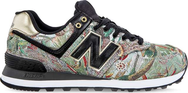 New Balance WL574SNA SWEET NECTAR BLACK WITH CLASSIC GOLD