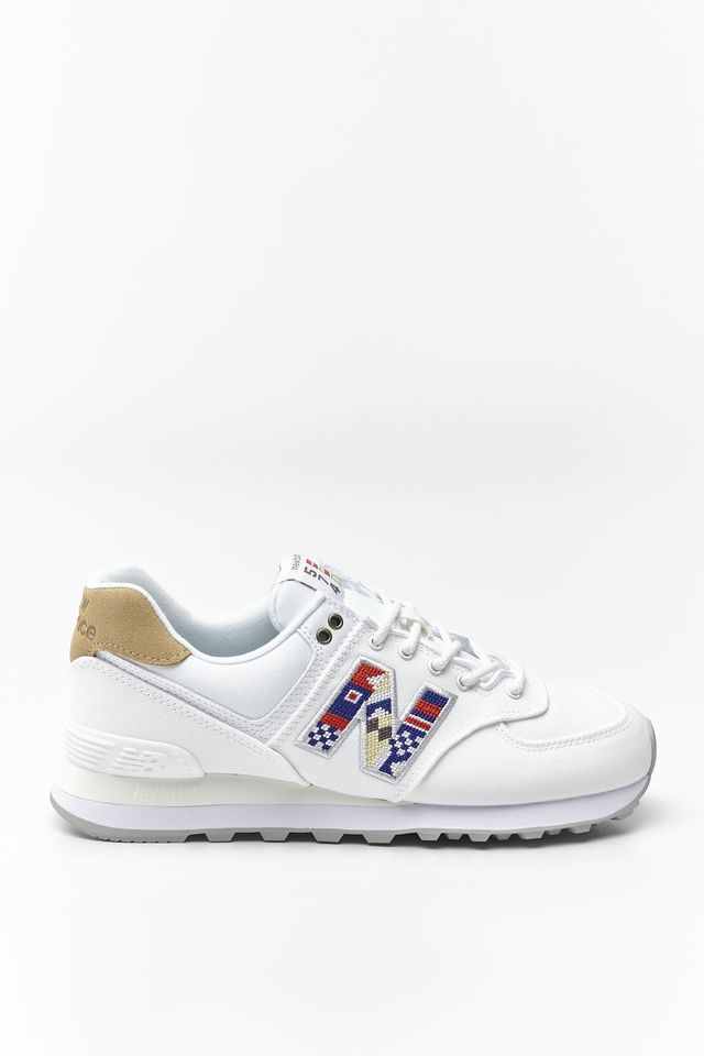 New Balance WL574SOD WHITE WITH INCENSE