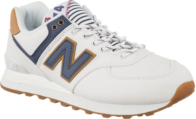 New Balance WL574SYE WHITE WITH VINTAGE INDIGO SEA ESCAPE