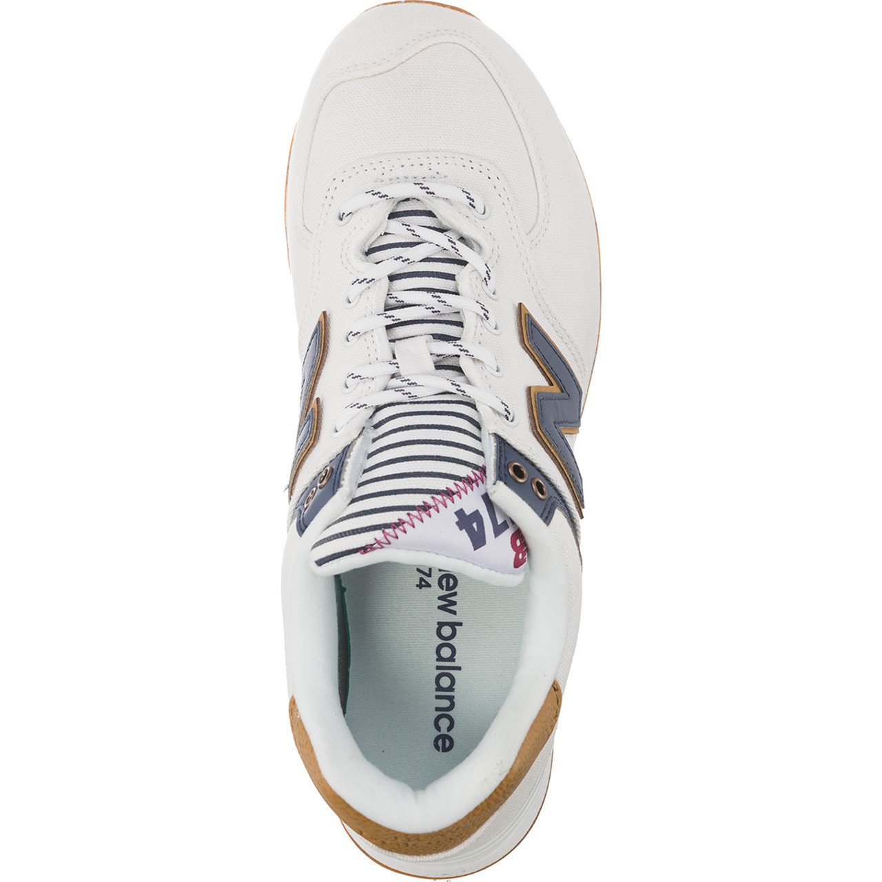 Buty New Balance  <br/><small>WL574SYE WHITE WITH VINTAGE INDIGO SEA ESCAPE </small>