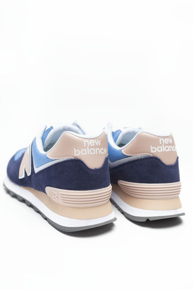Buty New Balance  <br/><small>WL574WND BLUE WITH SALMON </small>