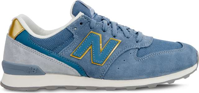 Buty New Balance  <br/><small>WR996FLP BLUE/GREY/GOLD </small>
