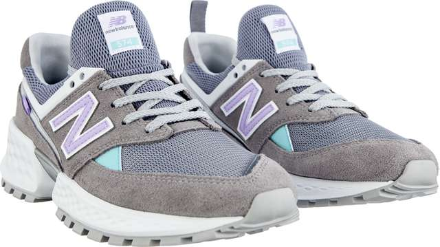 Buty New Balance  <br/><small>WS574PRC SPORT GUNMETAL WITH DARK VIOLET GLO </small>
