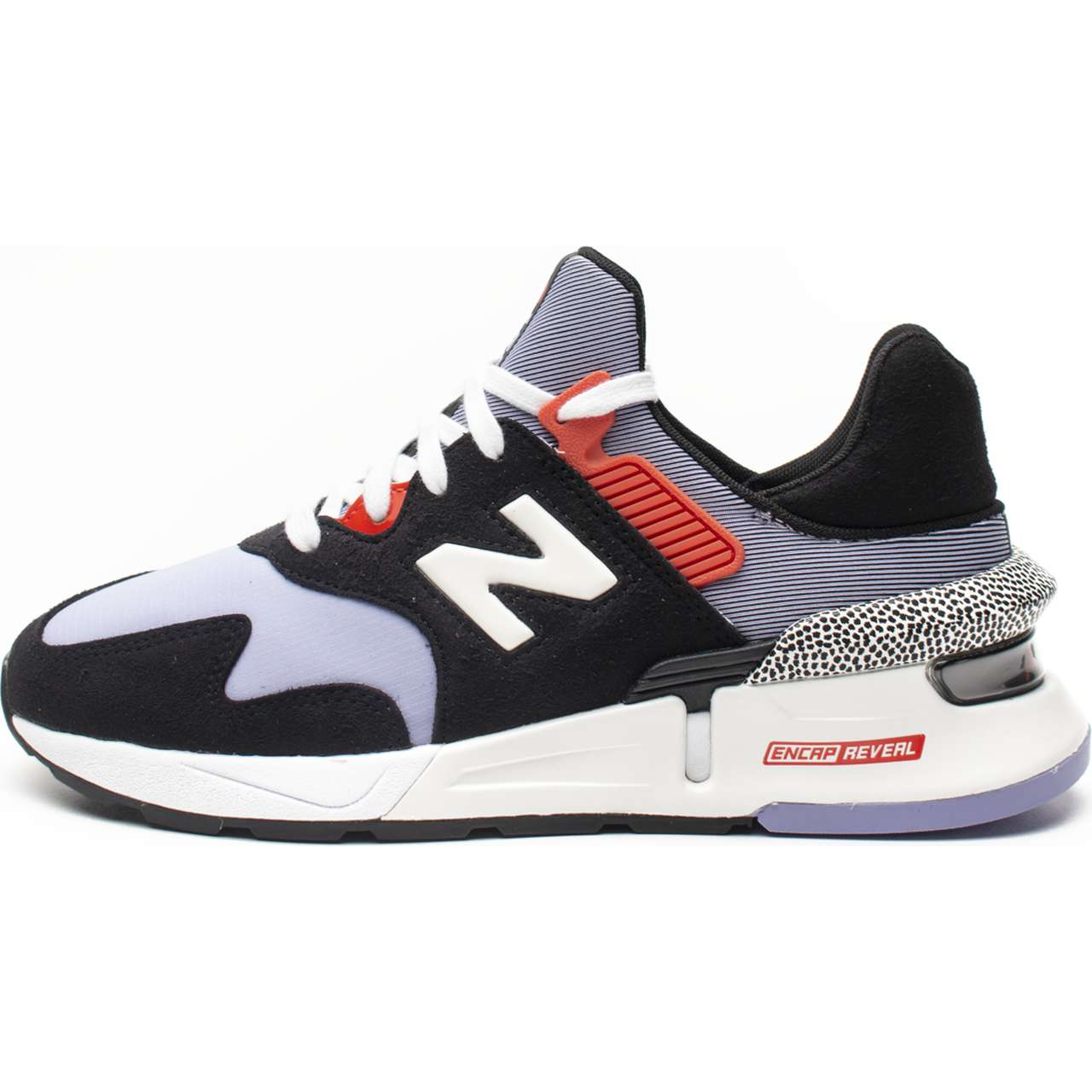 Buty New Balance  <br/><small>WS997JCD BLACK WITH PURPLE </small>