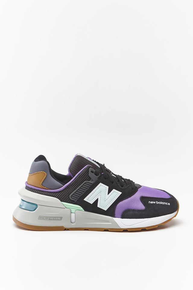 New Balance WS997JGC BLACK WITH NEO VIOLET