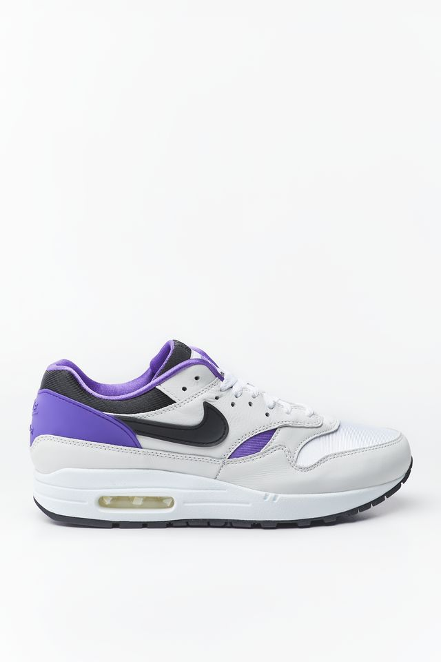 Nike AIR MAX 1 DNA CH.1 101 WHITE/BLACK/PURPLE PUNCH AR3863-101