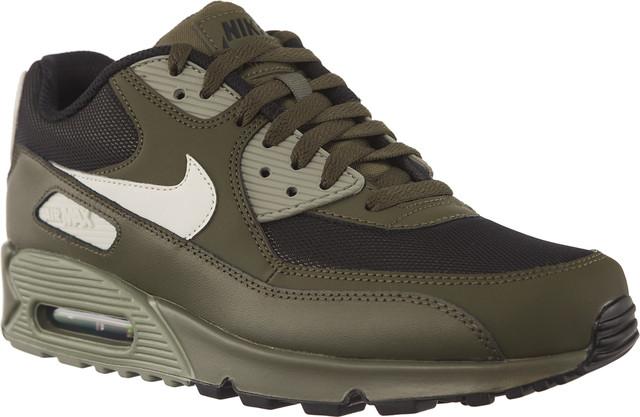 Nike Air Max 90 ESSENTIAL Cargo Khaki/Light Bone/Dark Stucco/Black 537384-309