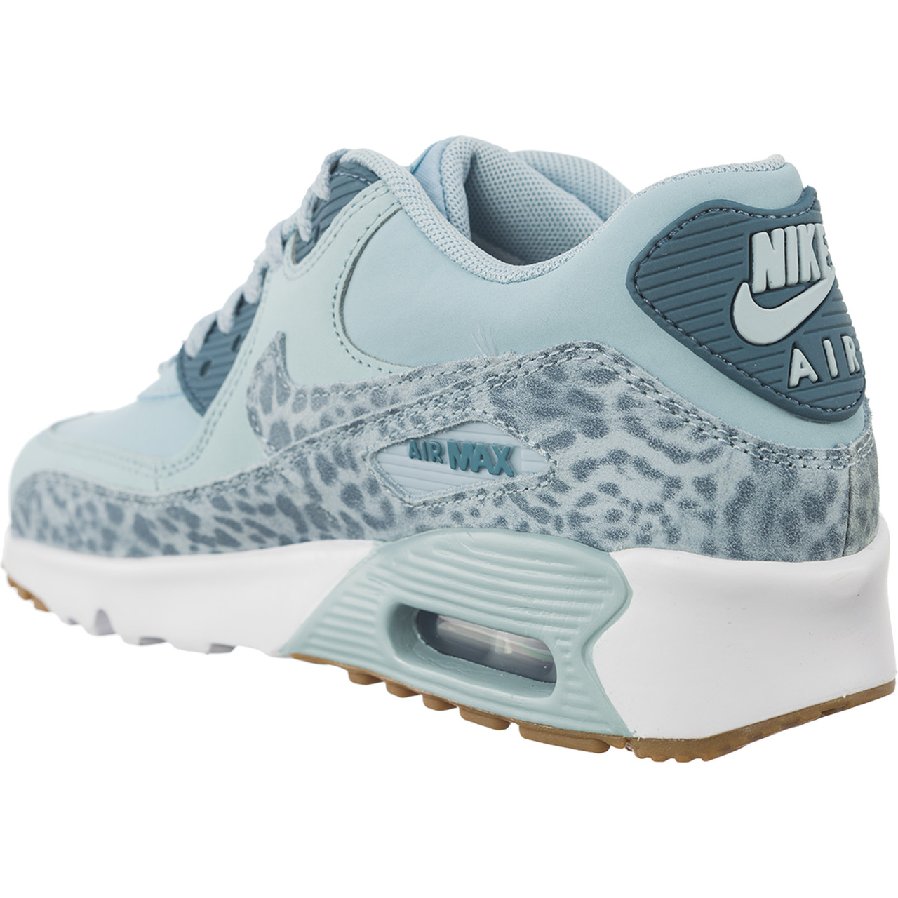 Buty Nike  <br/><small>Air Max 90 LEATHER SE GG Ocean Bliss/Noise Aqua-White </small>  897987-400