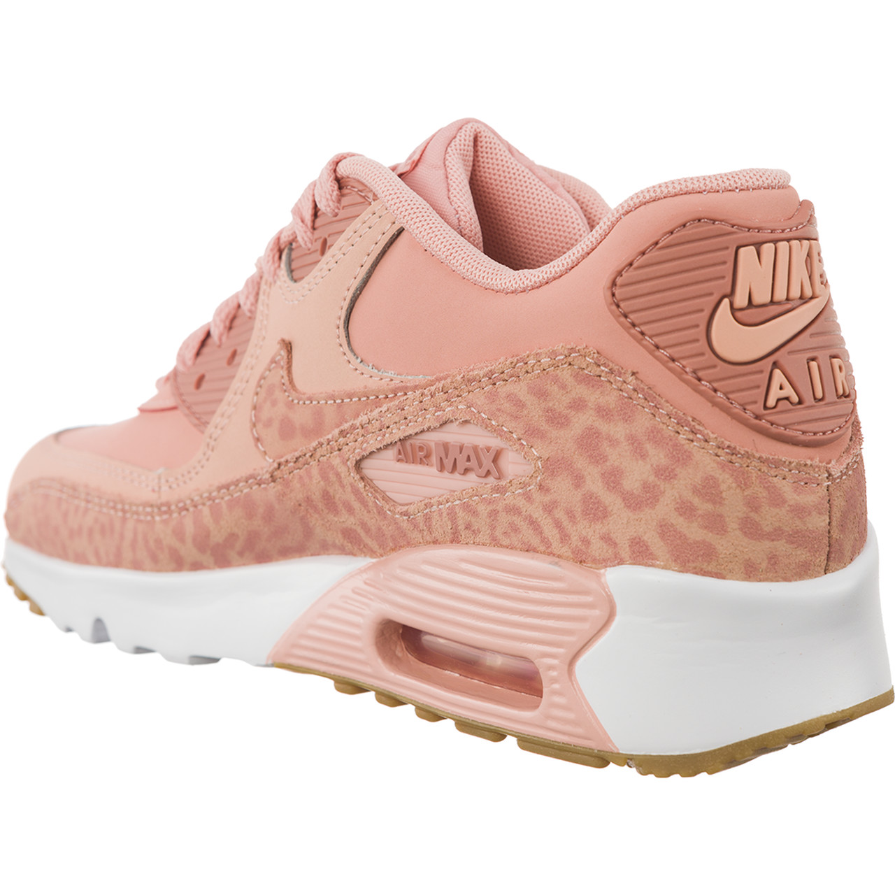 Buty Nike  <br/><small>Air Max 90 LEATHER SE GG Coral Stardust/White/Gum Light Brown/Rust Pink </small>  897987-601